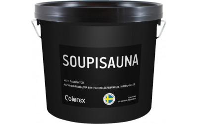 SOUPISAUNA Акриловый лак для бань и саун Colorex 0,9 л