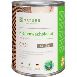 Bienenwachslasur Лазурь с пчелиным воском G-Nature 375 мл